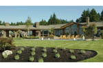 Ranch House Plan Rear Photo 07 - 011S-0003 | House Plans and More