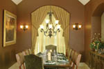 European House Plan Dining Room Photo 01 - 011S-0004 | House Plans and More