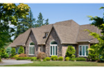 European House Plan Front Photo 02 - 011S-0004 | House Plans and More