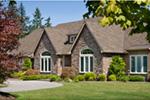 European House Plan Front Photo 03 - 011S-0004 | House Plans and More