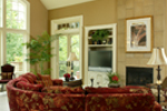 European House Plan Great Room Photo 01 - 011S-0004 | House Plans and More