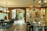 European House Plan Kitchen Photo 02 - 011S-0004 | House Plans and More