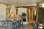 European House Plan Kitchen Photo 06 - 011S-0004 | House Plans and More