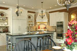European House Plan Kitchen Photo 08 - 011S-0004 | House Plans and More