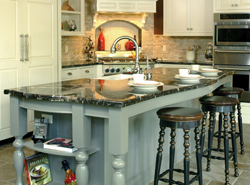 Stylish Island In Kitchen