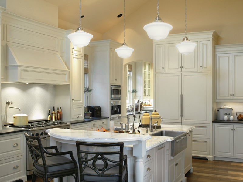 Luxury House Plan Kitchen Photo 01 011S-0005