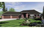 Ranch House Plan Front of Home -  011S-0007 | House Plans and More