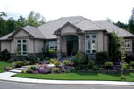 European House Plan Front of Home - 011S-0008 | House Plans and More