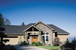European House Plan Front Photo 01 - 011S-0008 | House Plans and More