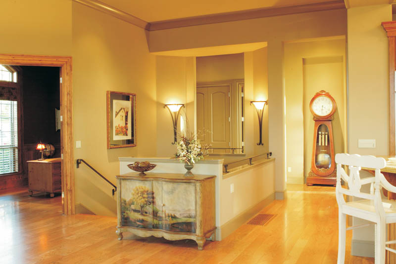 European House Plan Foyer Photo 011S-0012