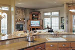 European House Plan Kitchen Photo 01 - 011S-0012 | House Plans and More