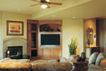 Ranch House Plan Recreation Room Photo 01 - 011S-0012 | House Plans and More