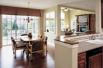 Shingle House Plan Kitchen Photo 01 - 011S-0014 | House Plans and More