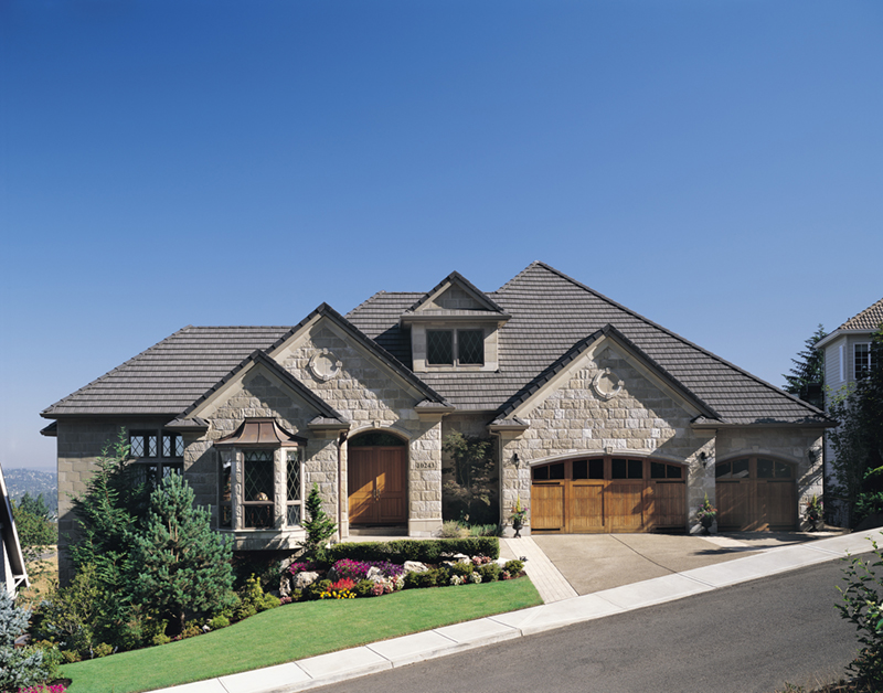 European House Plan Front of Home 011S-0015