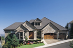 Ranch House Plan Front of Home - 011S-0015 | House Plans and More
