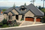 European House Plan Front Photo 03 - 011S-0015 | House Plans and More