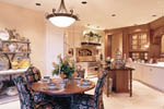 European House Plan Kitchen Photo 03 - 011S-0015 | House Plans and More