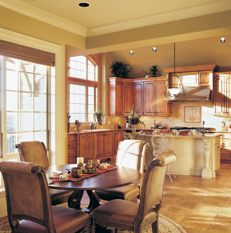 Country French Home Plan Kitchen Photo 01 011S-0016