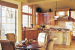 Country French Home Plan Kitchen Photo 01 - 011S-0016 | House Plans and More