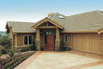 Ranch House Plan Front of Home - 011S-0017 | House Plans and More