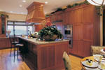 Shingle House Plan Kitchen Photo 01 - 011S-0017 | House Plans and More