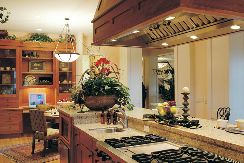 Ranch House Plan Kitchen Photo 02 011S-0017