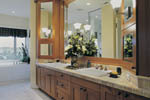 Arts and Crafts House Plan Master Bathroom Photo 01 - 011S-0017 | House Plans and More