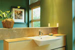 Contemporary House Plan Bathroom Photo 01 - 011S-0018 | House Plans and More
