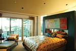 Contemporary House Plan Master Bedroom Photo 01 - 011S-0018 | House Plans and More