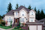 Traditional House Plan Front of Home - 011S-0019 | House Plans and More