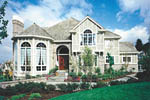Luxury House Plan Front of Home - 011S-0023 | House Plans and More