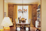 Country French Home Plan Dining Room Photo 01 - 011S-0036 | House Plans and More