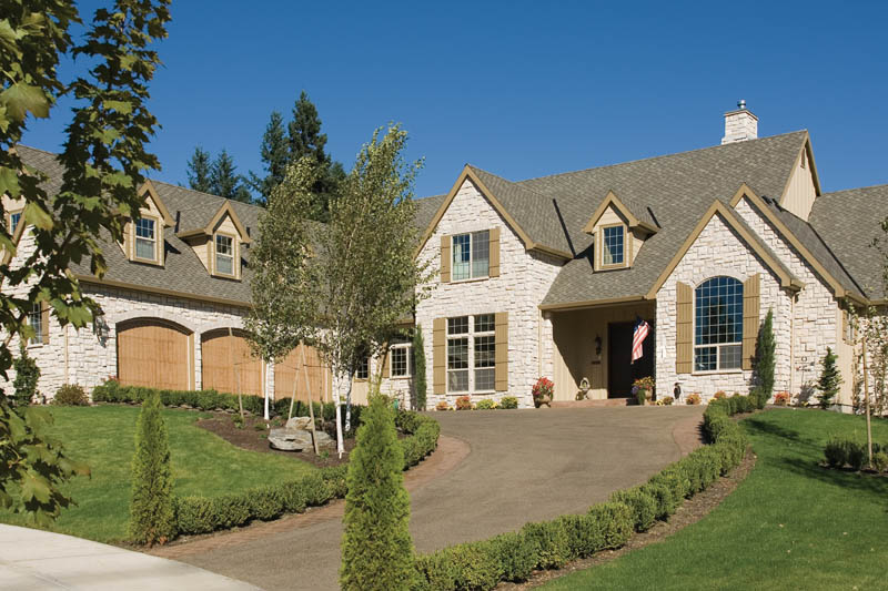 European House Plan Front of Home 011S-0036