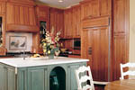 European House Plan Kitchen Photo 01 - 011S-0036 | House Plans and More