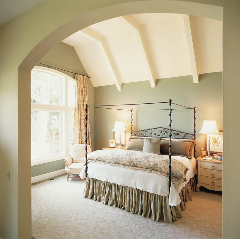 European House Plan Master Bedroom Photo 01 011S-0036