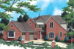 Luxury House Plan Front of Home - 011S-0038 | House Plans and More
