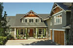 Craftsman House Plan Front Photo 04 - 011S-0043 | House Plans and More