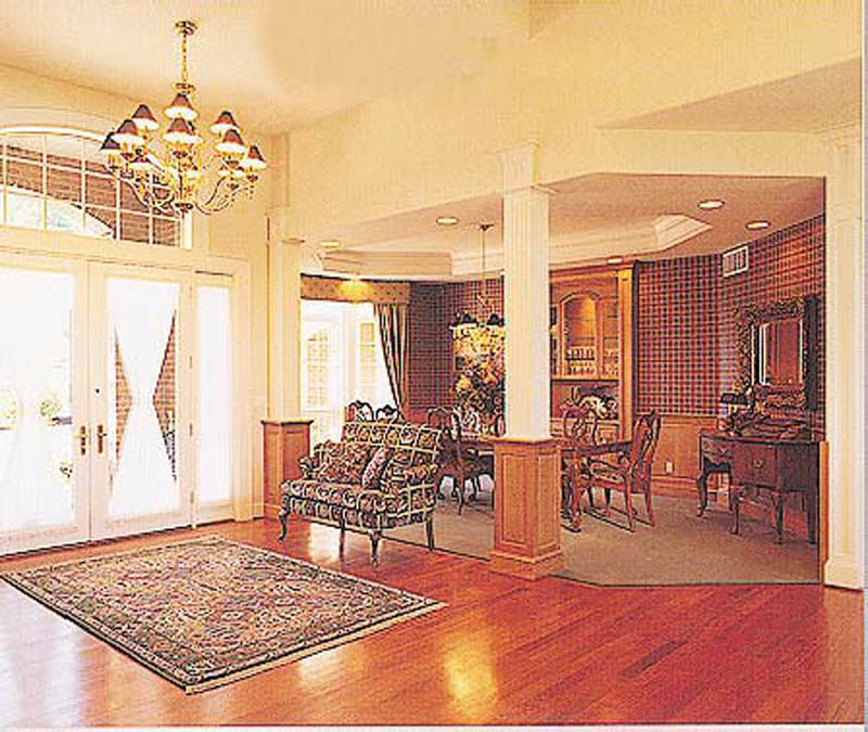 European House Plan Dining Room Photo 01 011S-0049