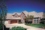 European House Plan Front of Home - 011S-0049 | House Plans and More