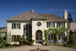 Sunbelt Home Plan Front of Home - 011S-0058 | House Plans and More