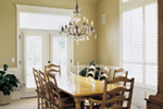 Luxury House Plan Dining Room Photo 01 - 011S-0061 | House Plans and More