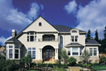 Craftsman House Plan Front of Home - 011S-0062 | House Plans and More
