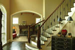Arts and Crafts House Plan Foyer Photo - 011S-0063 | House Plans and More
