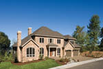 Luxury House Plan Front Photo 04 - 011S-0063 | House Plans and More