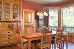 Vacation Home Plan Dining Room Photo 01 - 011S-0066 | House Plans and More