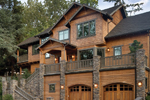 Rustic Cedar Shingled Craftsman Style Luxury Home 