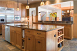 Vacation Home Plan Kitchen Photo 02 - 011S-0066 | House Plans and More
