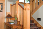 Vacation Home Plan Stairs Photo - 011S-0066 | House Plans and More