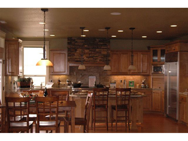 Arts & Crafts House Plan Kitchen Photo 01 -  011S-0069 | House Plans and More