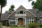 Beach & Coastal House Plan Front Photo 02 - 011S-0073 | House Plans and More